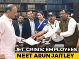 Video : Jet Airways Delegation Meets Arun Jaitley, Seeks Pending Salaries