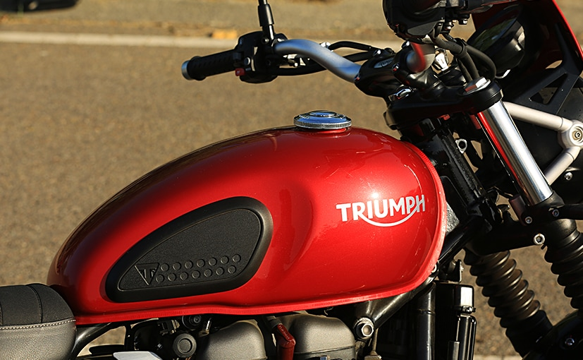 As of now, the Triumph Motorcycles India has 16 dealerships across the country