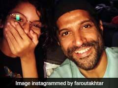Inside Farhan Akhtar And Daughter Akira's 'Auto' Diaries