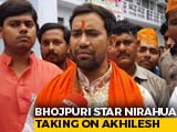 Video : In Azamgarh, Bhojpuri Actor Amplifies Star Power To Fight Akhilesh Yadav