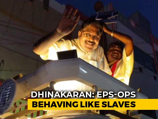 """Video : """"People Will Vote For Amma's Real Party"""": TTV Dhinakaran To Prannoy Roy"""