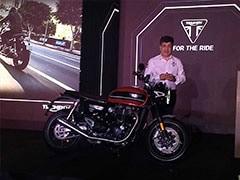 ट्रायम्फ ने भारत में लॉन्च की नई मोटरसाइकल स्पीड ट्विन, कीमत Rs. 9.46 लाख
