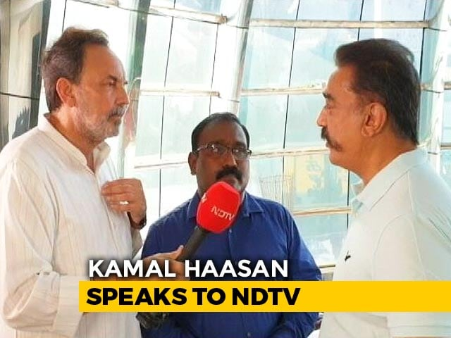 Video : Congress Or BJP? Kamal Haasan's Criteria For His Support After Polls