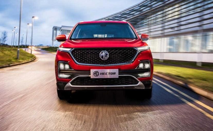 The MG Hector will be launched in the second quarter of 2019