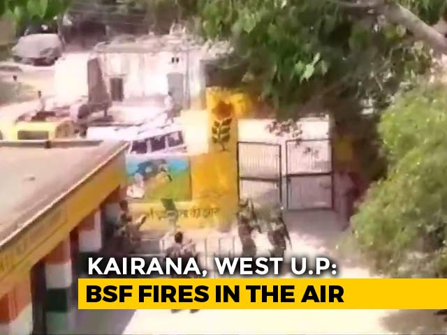 Video : At UP Booth, Shots Fired In The Air As People With No Voter IDs Turn Up