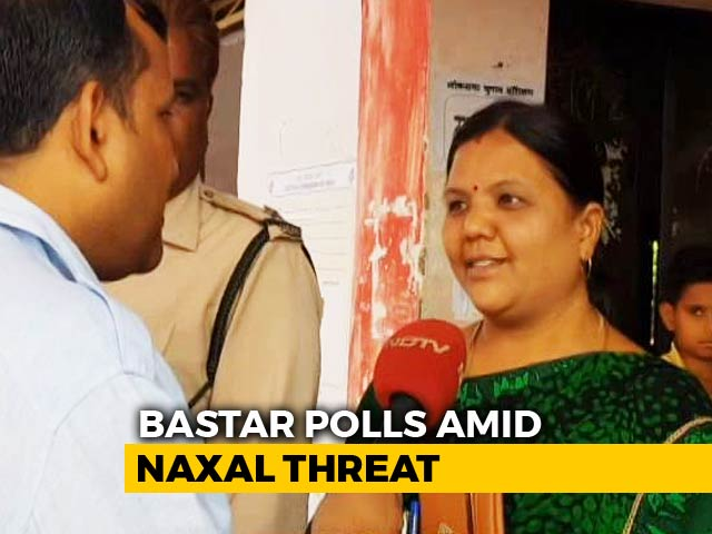 "Video : ""Exercising Our Rights"": Chhattisgarh Voters Turn Out Undeterred For Elections"