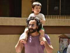 'Please Don't Stalk Taimur': Saif On Cops Clearing Paps Outside His House