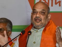Sonia Gandhi Cried For Terrorists, Not For Dead Cop: Amit Shah
