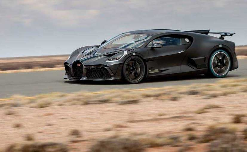The Bugatti Divo was tested in the scorching desert at 250 kmph.