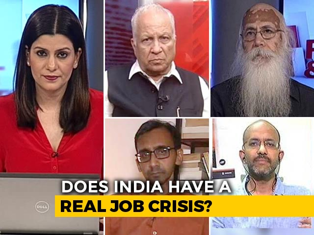 Video : 50 Lakh Jobs Lost Post Notes Ban: Study
