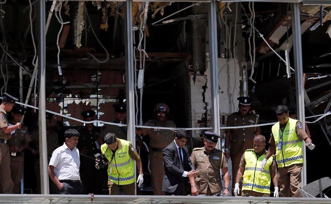 Wife, Sister Of Colombo Bomber Killed In Blasts On Sunday