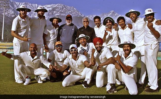 Ranveer Singh's '83 Shades Of Work, Play, Chill With 'Champion Of Champions' Mohinder Amarnath