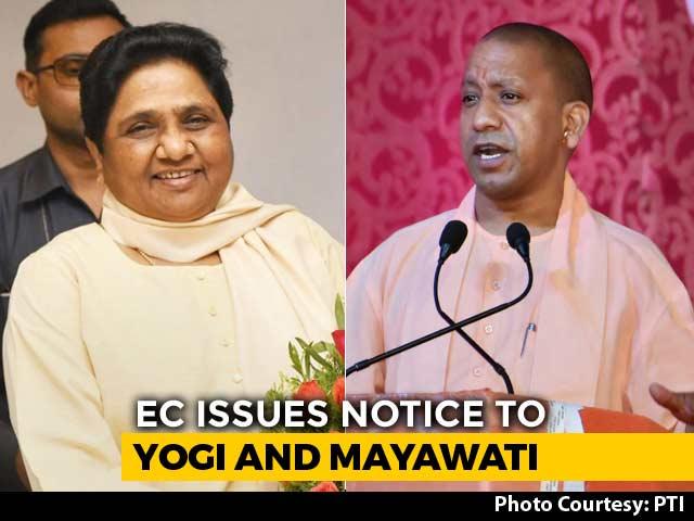 Mayawati, Yogi Adityanath Get Poll Body Notice Over Remarks At Rallies