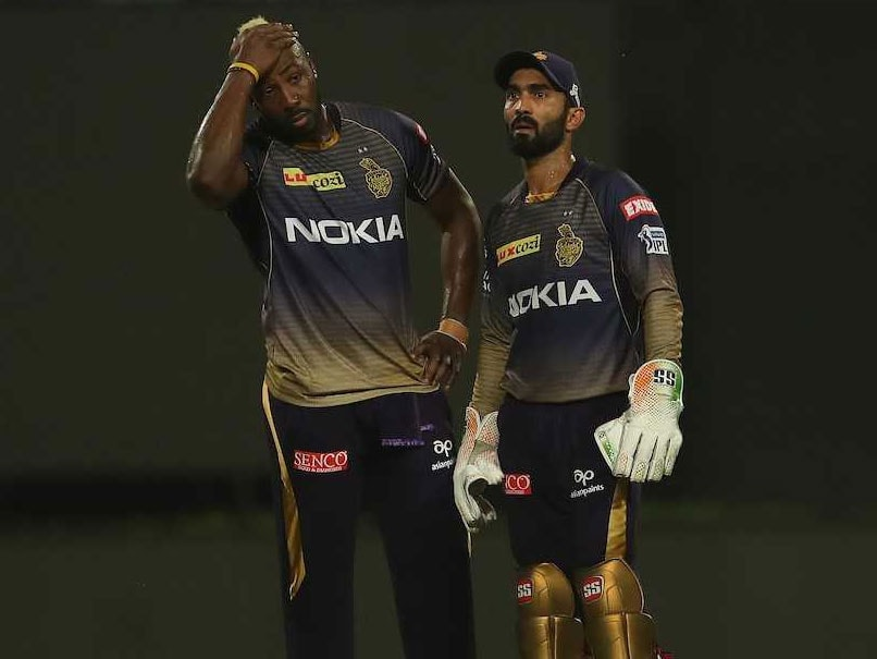 KKR vs RR Match: Andre Russell slams KKR's captain Dinesh Karthik poor decision-making on the field for wretched run of form