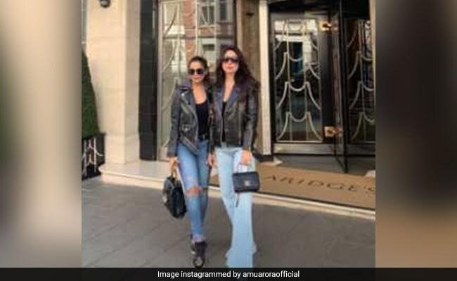 'Besties' Kareena Kapoor And Amrita Arora Take Over London. See Pics