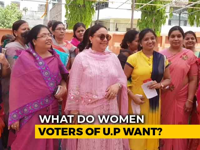 Video : From Safety Issues To Samajwadi Party, What Do UP Women Want