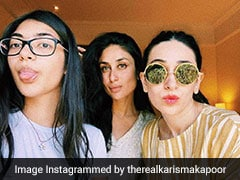 Seen Karisma Kapoor's Selfie With Her 'Favourite' Girls Kareena And Samiera?