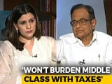Video : P Chidambaram On How Congress Plans To Fund NYAY Income Guarantee Scheme