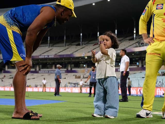 Watch: Ziva Dhoni Teaches Dwayne Bravo The Correct Way To Wear A Cap In Adorable Video