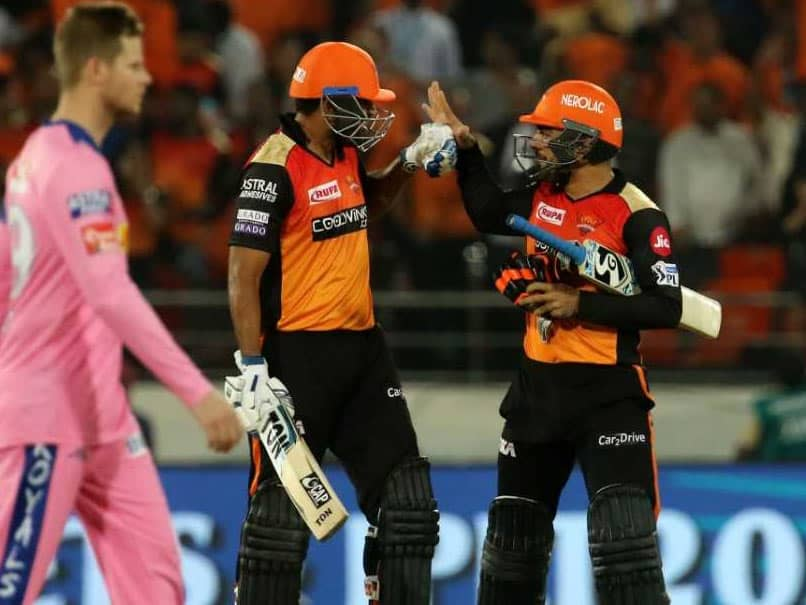 IPL 2019, RR vs SRH: When And Where To Watch Live Telecast, Live Streaming