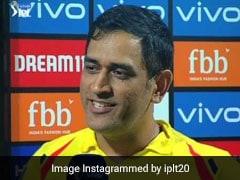 IPL 2019: MS Dhoni से पूछा- क्या है जीत का सीक्रेट? मिला ऐसा मजेदार जवाब, देखें VIDEO
