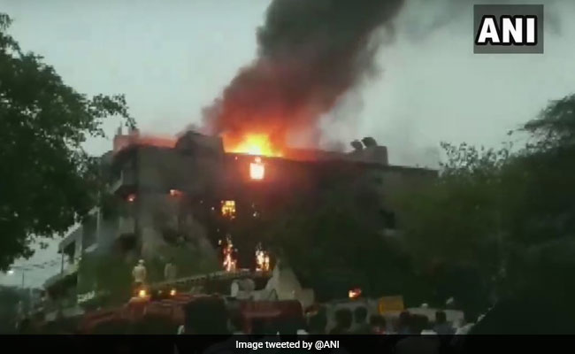 Fire Breaks Out At Delhi Factory, 26 Fire Tenders On Spot