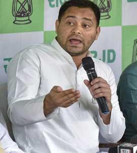 तेजस्वी यादव का PM मोदी- नीतीश कुमार पर हमला, कहा- 23 मई के बाद 'डायनासोर' की तरह गायब हो जाएंगी ये दो पार्टियां...