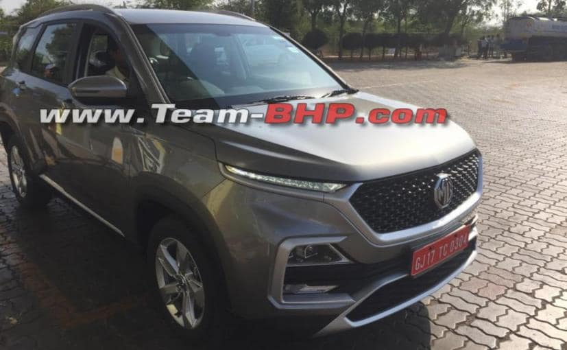 Production-Ready MG Hector Spotted Testing In India Ahead Of Launch