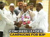 Video : Congress Red-Faced, Maharashtra Leader Campaigns For Son Who Joined BJP