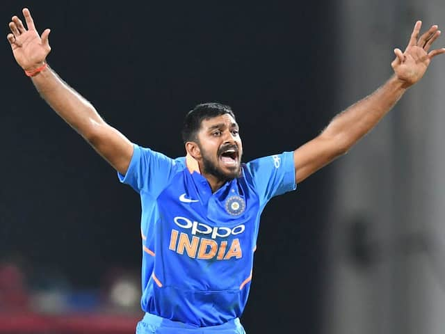 "Vijay Shankar Says ""Dream Come True"" After Making It To World Cup Squad"