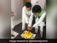 "Tejashwi Wishes ""Krishna Elder Brother"" After ""Reunion"" With Tej Pratap"
