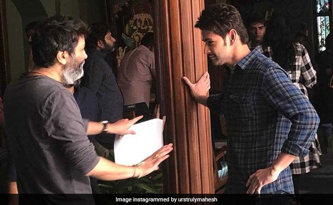 Mahesh Babu Reunites With His 'Favourite' Director Trivikram For A Project