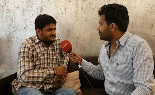 NDTV Exclusive: चुनाव लड़ने के अयोग्य घोषित हार्दिक पटेल ने कहा- उम्र पड़ी है, लंबी राजनीति करने के लिए आया हूं