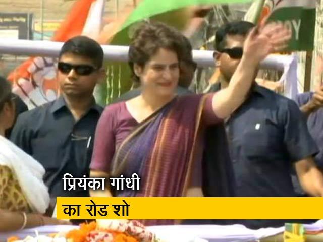 Videos : प्रियंका गांधी ने असम के सिल्वर में किया रोड शो
