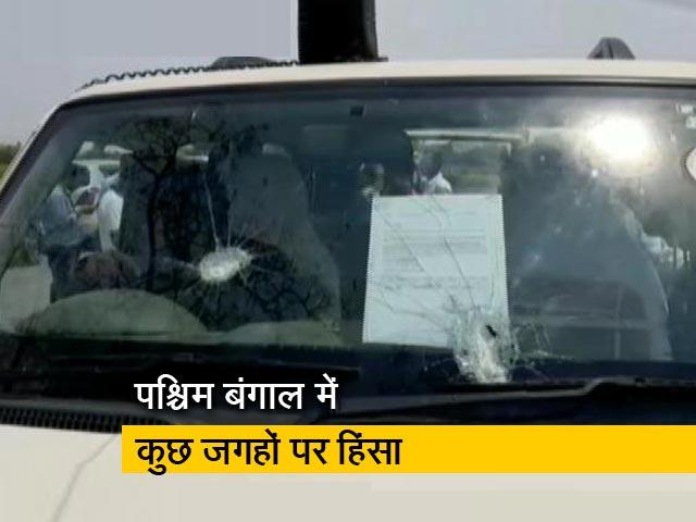 Videos : CPM उम्मीदवार की कार पर हमला