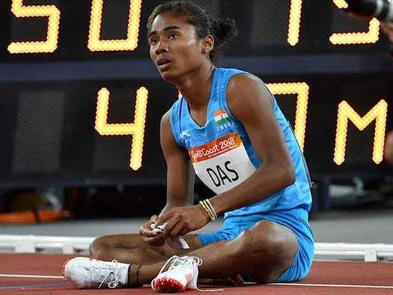 स्टार एथलीट हिमा दास ने पोलैंड में 200 मीटर रेस में जीता स्वर्ण पदक