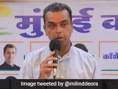 """Why Was <i>Nikamma</i> Absent?"": Sanjay Nirupam vs Milind Deora Over A Rally"