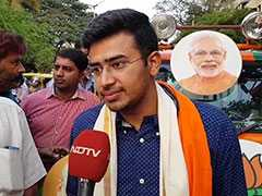 """Law Is Above You,"" Tejasvi Surya Tweets After P Chidambaram's Arrest"