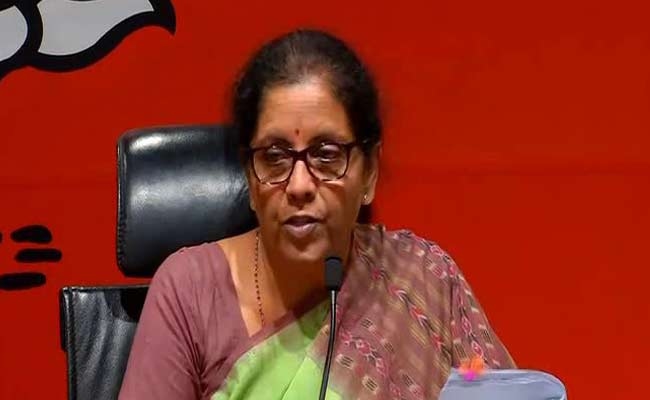 Finance Minister Nirmala Sitharaman Holds Pre-Budget Meeting