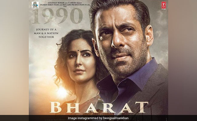 Bharat: Salman Khan And Katrina Kaif Are Ageing One New Poster At A Time
