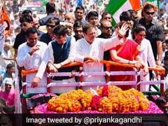 """Father's <i>Karmabhoomi</i>"": Priyanka Gandhi In ""Sacred"" Amethi With Family"