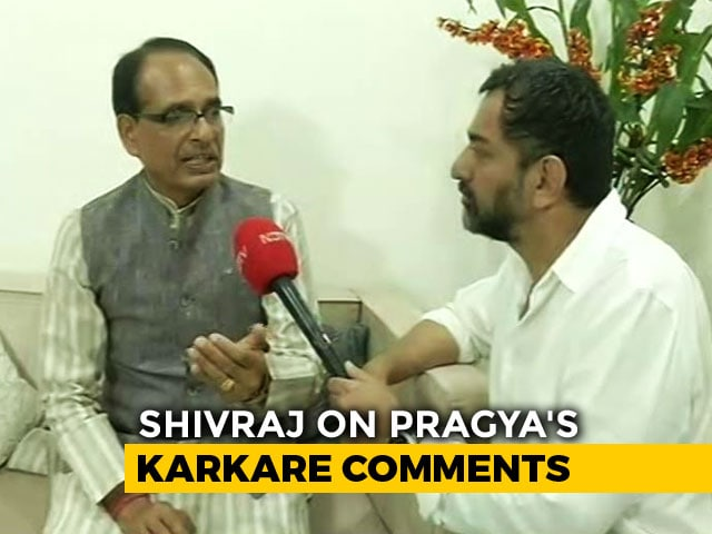 "Video : Pragya Thakur ""An Innocent Daughter Of India"": Shivraj Chouhan To NDTV"