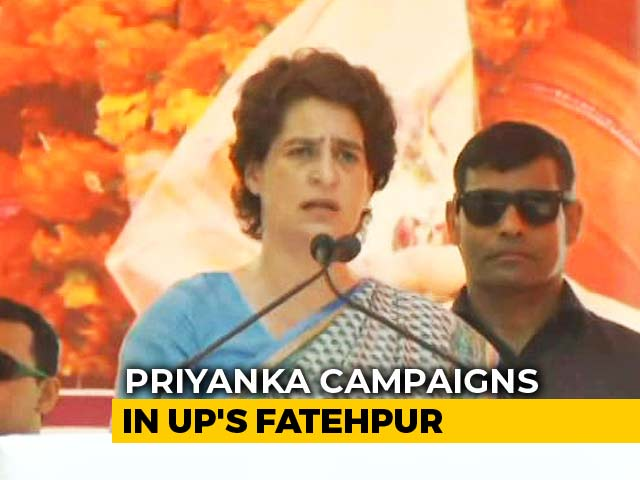 "Video : BJP Government Thinks It's Doing Public A ""Favour"": Priyanka Gandhi Vadra"