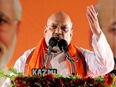 """Is <i>Jai Shri Ram</i> To Be Chanted In Pak?"" Amit Shah Attacks Mamata Banerjee"