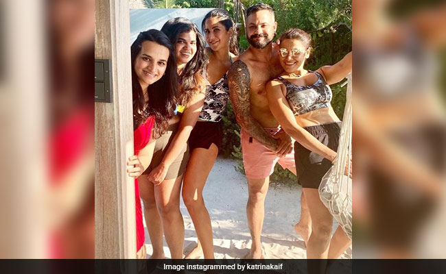 Katrina Kaif And Her 'Best People' are Chilling In Maldives