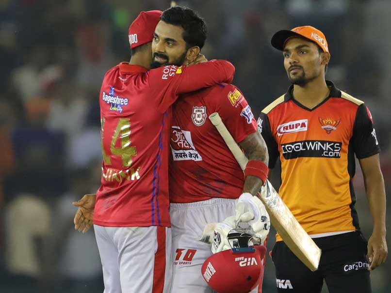 KL Rahul's Unbeaten Fifty Guides Kings XI Punjab Home Against SunRisers Hyderabad In Tense Finish