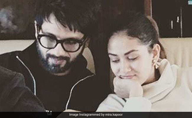 Mira Rajput And Shahid Kapoor's 'Work In Progress' Post Hints At A New Home