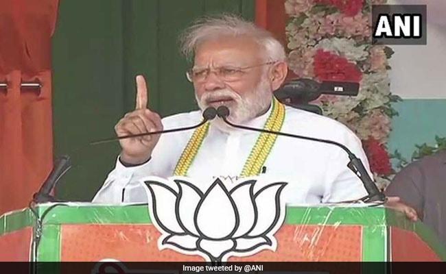 कांग्रेस चुनाव लड़ रही है देश की सेना को कमजोर करने के लिए : छत्तीसगढ़ में बोले पीएम मोदी