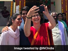 Priyanka Gandhi Vadra's Children Make Rare Appearance In Election Selfie