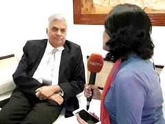 """India Gave Us Intelligence, But There Was A Lapse"": Sri Lanka PM To NDTV"